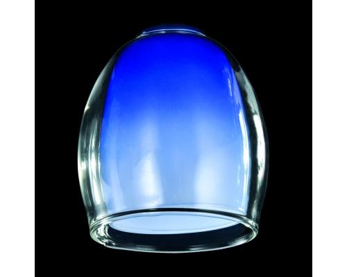 Плафон плафон 9808 синий+прозрачный, арт. 70434