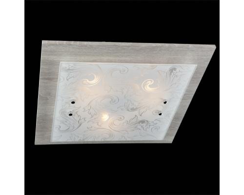Настенно-потолочный светильник 2961/3 хром/серый