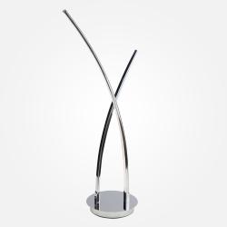 Светодиодная настольная лампа 80400/2 хром