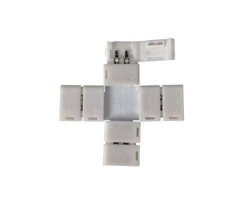 X-образный коннектор для одноцветной светодиодной ленты 3528 (5 шт.) LED 1X
