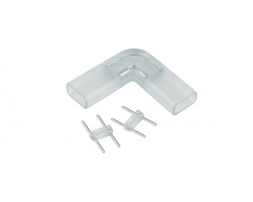 Аксессуары для светодиодной ленты Переходник для ленты 220V 5050 угловой (10 шт)
