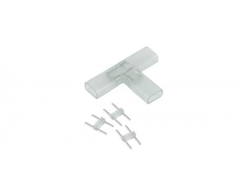 Аксессуары для светодиодной ленты Переходник для ленты 220V 5050 Т образный (10 шт)