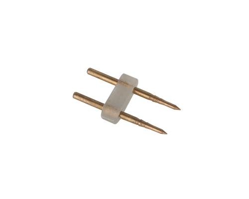 Аксессуары для светодиодного гибкого неона Внутренний переходник для неона 2835 одноцветный (10pkt)