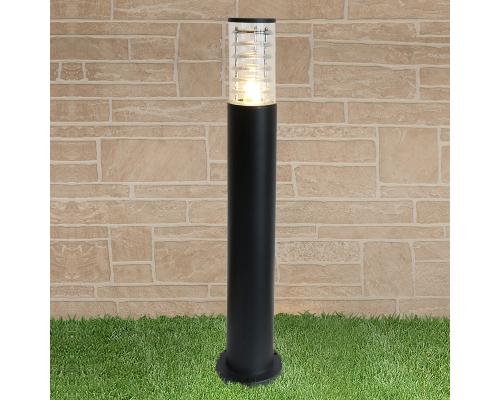 уличный светильник на столбе 1507 TECHNO черный