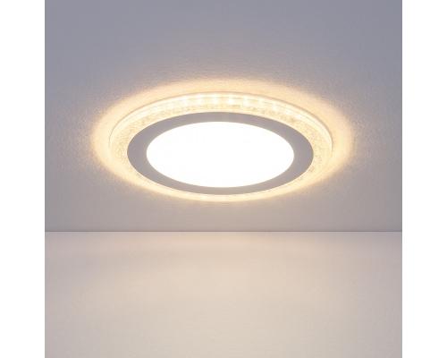 Встраиваемый потолочный светодиодный светильник DLR024 18W 4200K