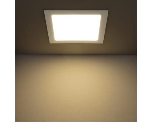 Встраиваемый потолочный светодиодный светильник DLS003 18W 4200K
