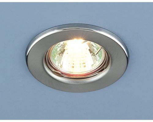 Точечный светильник 9210 MR16 SCH хром сатинированный