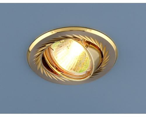 Точечный светильник 704 CX MR16 SN/GD сатин никель/золото