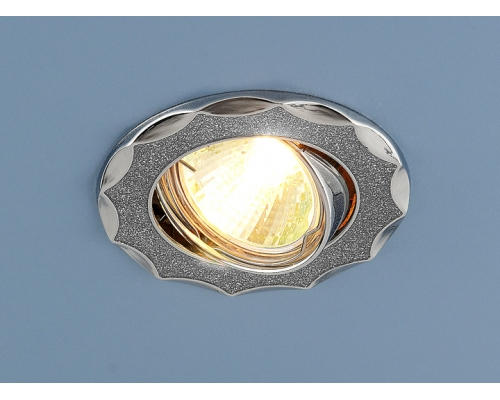 Точечный светильник 612 MR16 SL серебряный блеск/хром