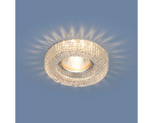 Встраиваемый потолочный светильник с LED подсветкой 2213 MR16 CL прозрачный