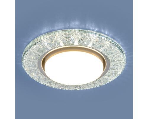 Точечный светодиодный светильник 3022 GX53 CL прозрачный