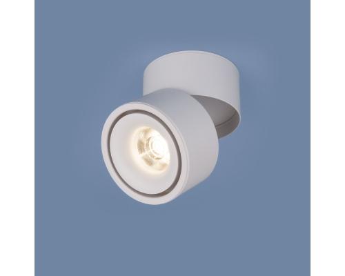 Накладной потолочный  светодиодный светильник DLR031 15W 4200K 3100 белый матовый