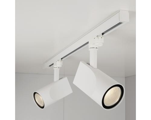 Трековый светодиодный светильник для трехфазного шинопровода Vista Белый 32W 4200K LTB16