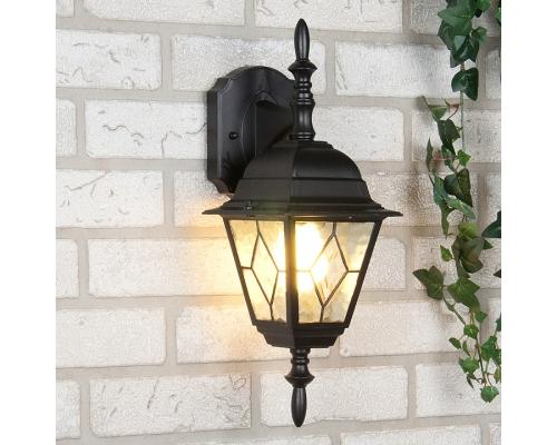 уличный настенный светильник Vega D черный