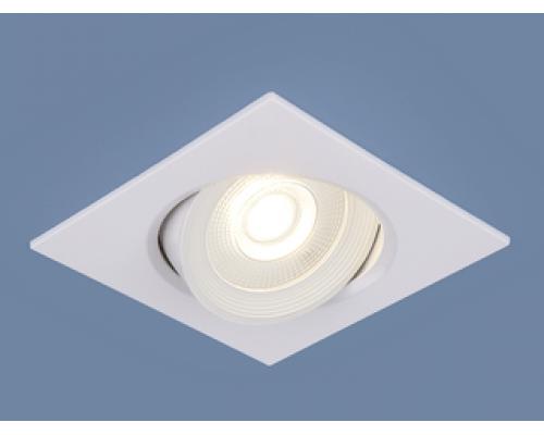 Встраиваемые LED светильники 9906 LED 6W WH белый и 9907 LED 6W WH белый