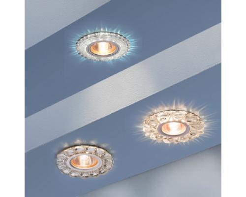 Новинка! Встраиваемые точечные светильники с LED подсветкой