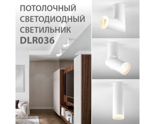 Новинка! Светодиодный стационарный светильник DLR036 12W 4200K
