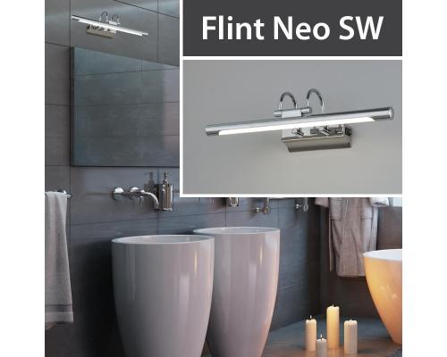 Новинка! Подсветка Flint Neo SW LED хром (MRL LED 1022) с выключателем